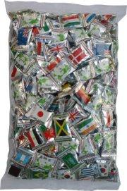 世界の国旗キャンディ 1kg祝オリンピックや世界大会 ワールドカップ関係の販促品としてお薦めします